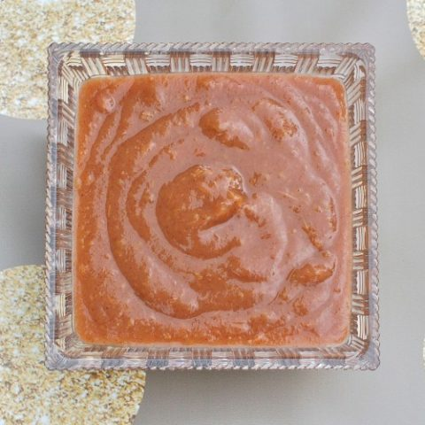 Homemade Unsweetened Cinnamon Applesauce