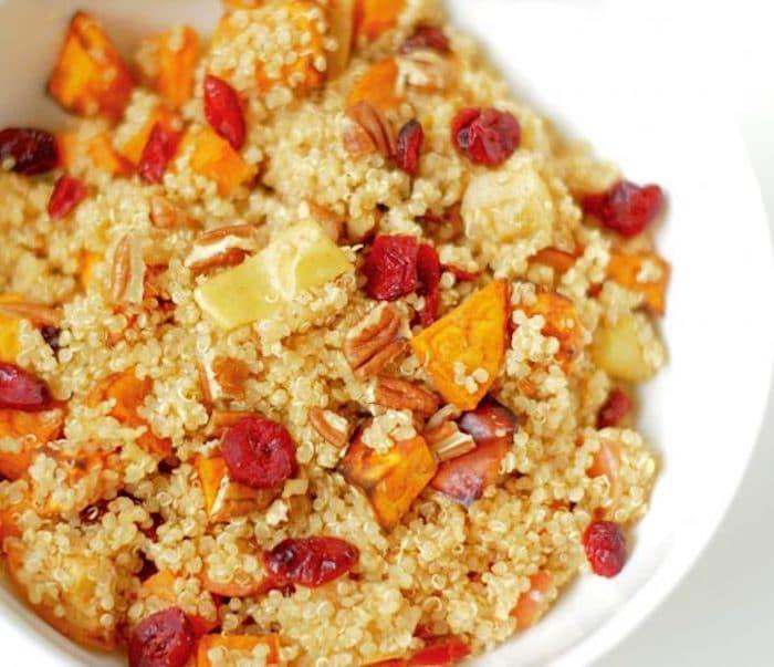 Spiced Quinoa Close Up