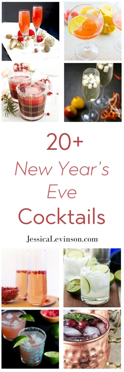 Ring in the new year with 20+ New Year's Eve cocktail recipes perfect for the season!