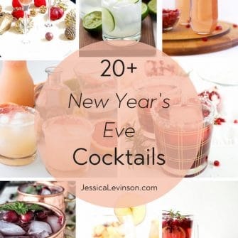 roundup of new year's eve cocktail recipes