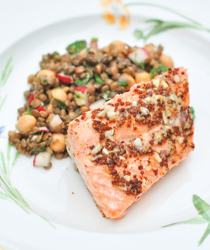 quick and easy 5-ingredient baked orange maple salmon