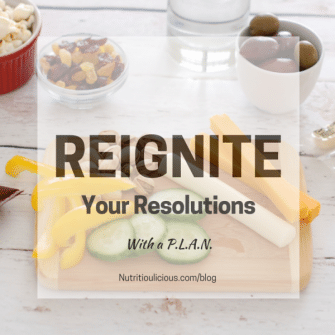 Reignite your New Year's resolutions and get back on track over the next nine months with a PLAN. @jlevinsonrd