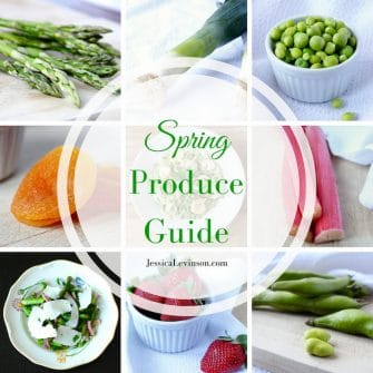 Spring Produce Guide Square with Text