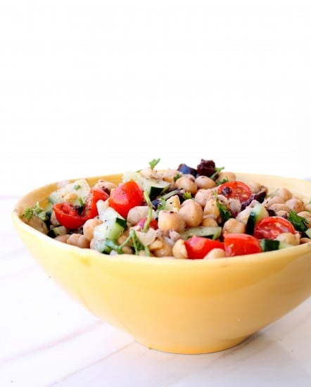 Lunchbox Chickpea Salad