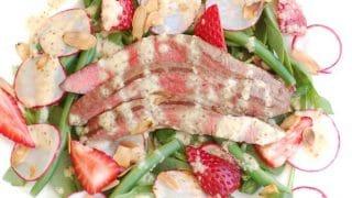 Summer Steak Salad with Champagne-Shallot Vinaigrette