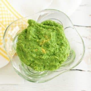 3-Ingredient Minty Pea Dip