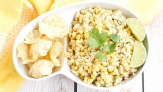 Esquites {Mexican Street Corn Salad}