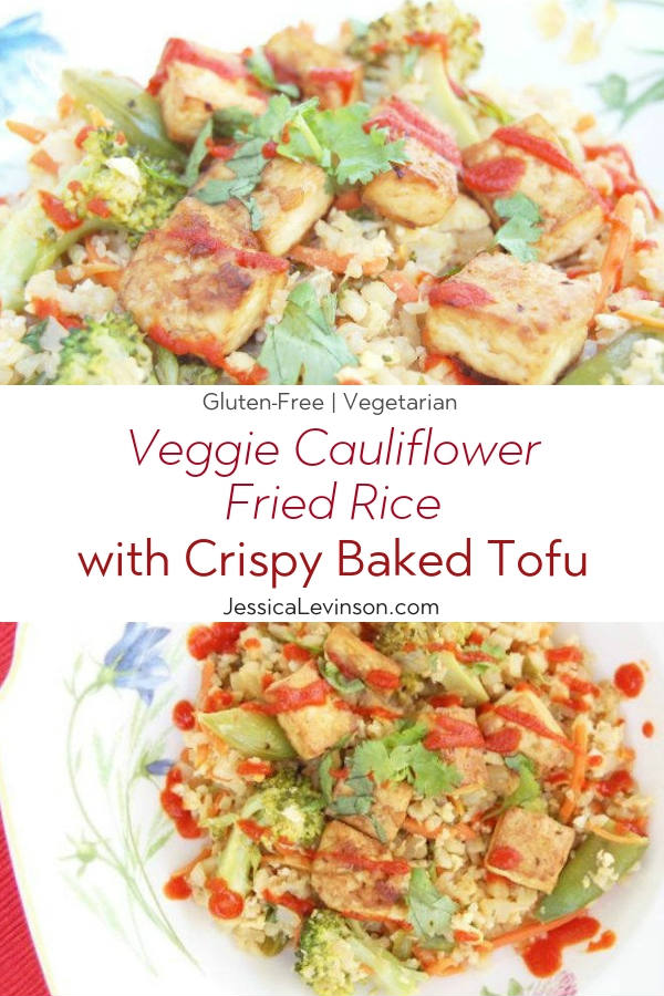 Cauliflower Fried Rice with Text Overlay