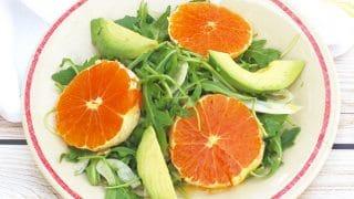 Citrus Fennel Salad with Champagne-Lemon Vinaigrette