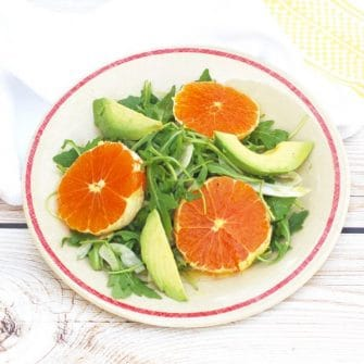 Citrus Fennel Salad with Champagne-Lemon Vinaigrette | Nutritioulicious