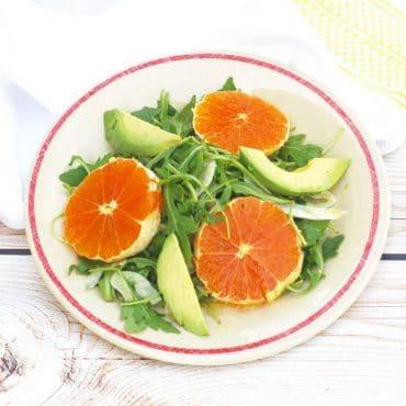 Citrus Fennel Salad with Champagne-Lemon Vinaigrette | Nutritioulicious