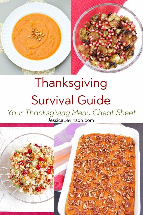 Thanksgiving survival guide healthier recipes
