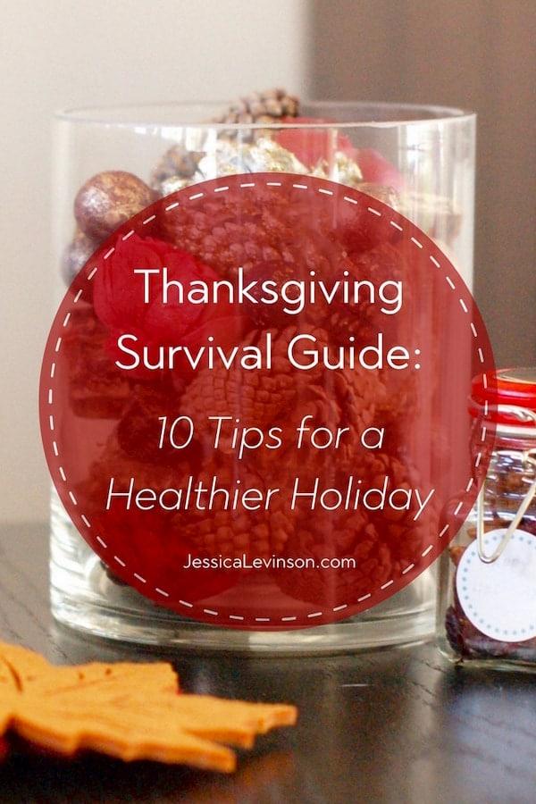 healthier Thanksgiving survival guide