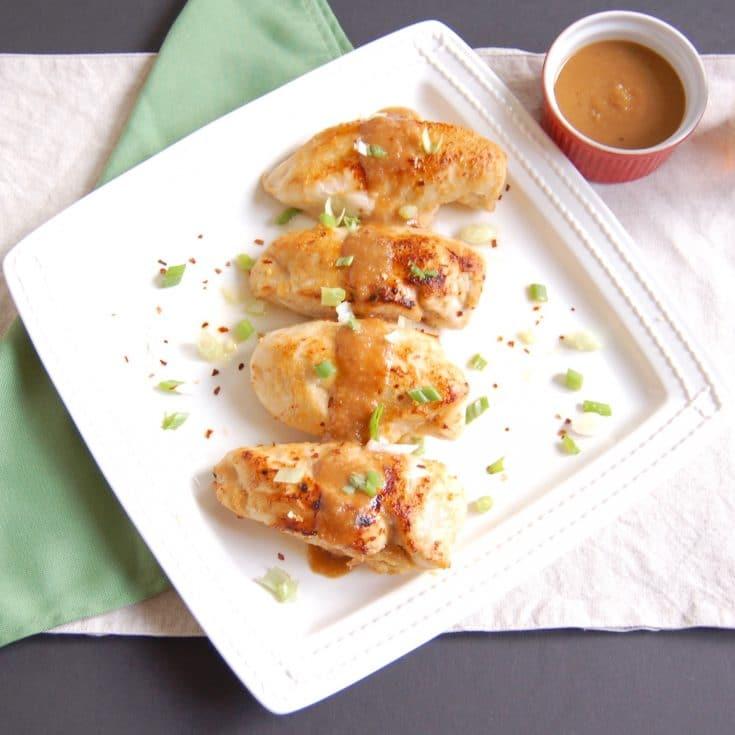 Miso-Glazed Chicken Breasts