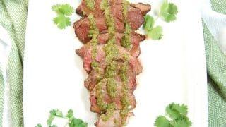 Grilled Cilantro Lime Steak