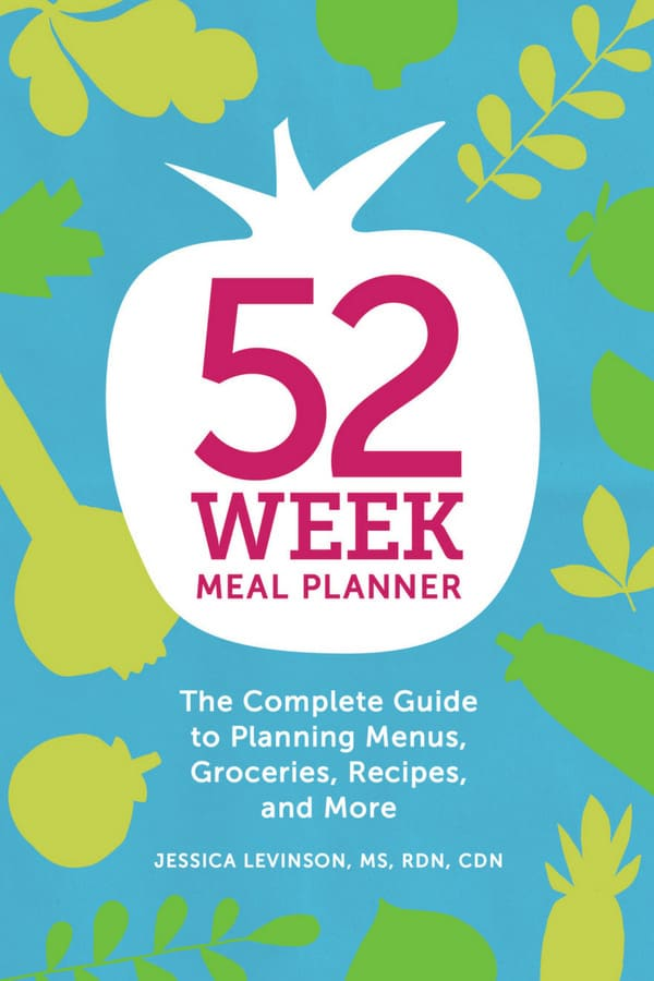 52-Week Meal Planner workbook will help you meal plan in the new year.
