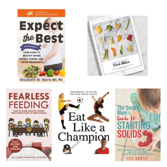 These guides for feeding kids make a great holiday gift ideas for moms and dads.