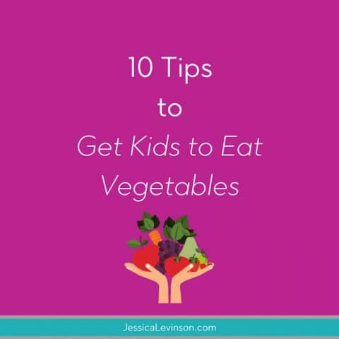tips for feeding kids vegetables