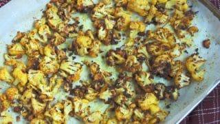 Golden Roasted Cauliflower