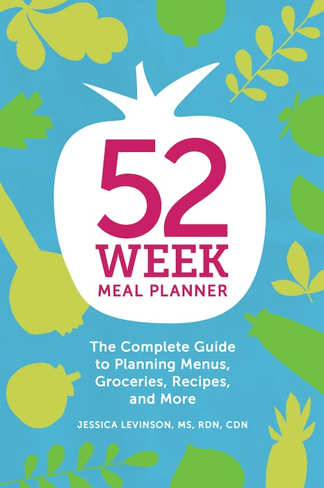 Take the guesswork out of meal planning with the help of the ultimate resource - Jessica Levinson's 52-Week Meal Planner workbook!