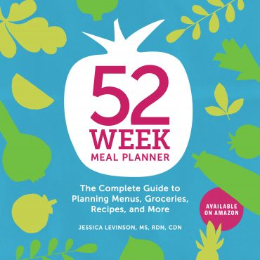 52-Week Meal Planner book by Jessica Levinson, MS, RDN, CDN