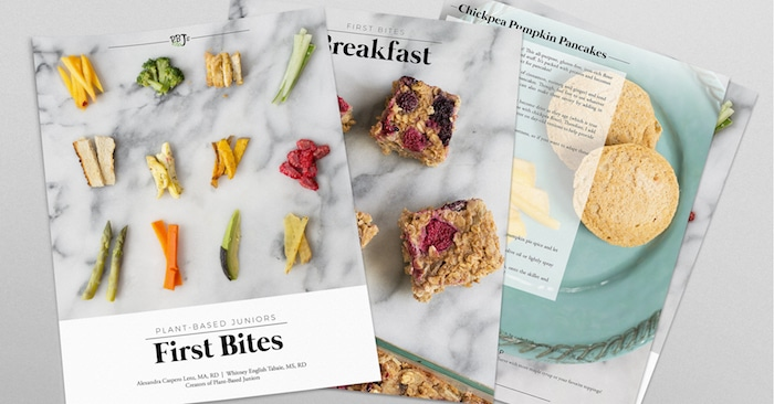 PBJs: First Bites is the definitive guide to baby-led weaning for plant-based babies.