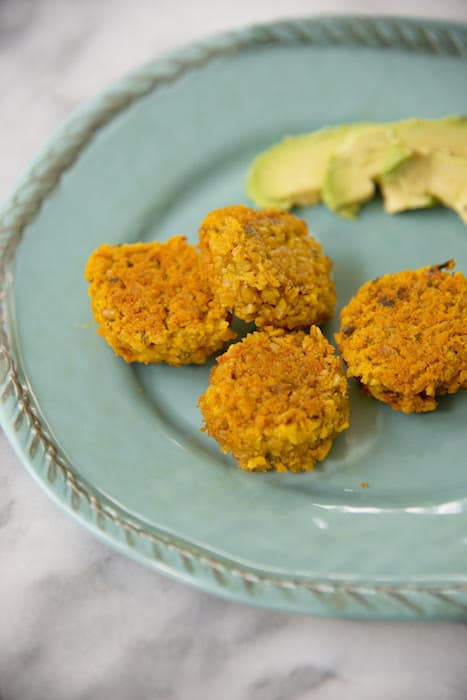 Red Lentil Meatballs are a delicious plant-based recipe for babies and whole families alike