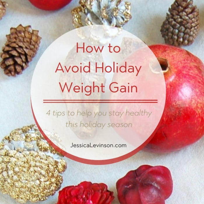 Four easy ways to avoid holiday weight gain while still enjoying everything the holidays have to offer!