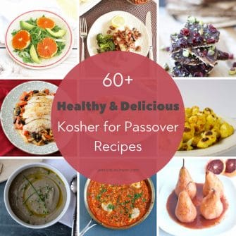 healthy passover recipes
