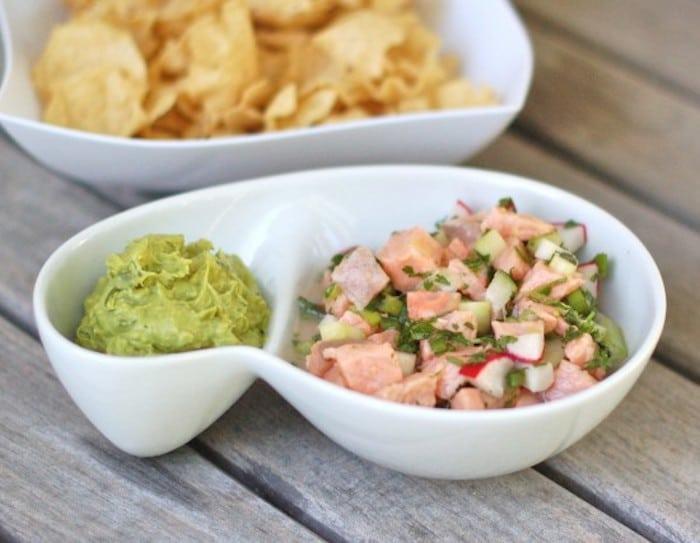 Salmon Ceviche Spring Recipe Roundup