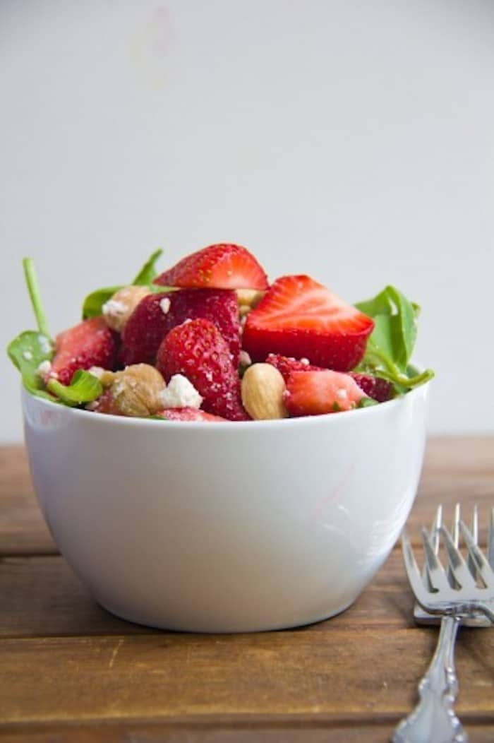 Strawberry Salad Spring Recipe Roundup