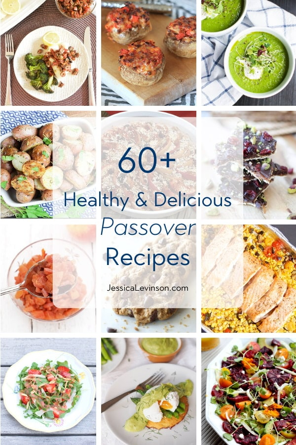 kosher healthy passover recipes roundup
