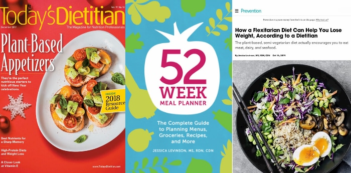 Food and nutrition writer Jessica Levinson, MS, RDN, CDN