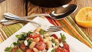 Roasted Radish and White Bean Salad