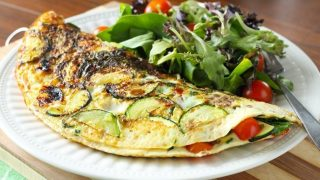 Hearty Lentil and Veggie-Packed Omelette
