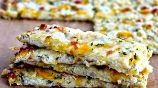 Cauliflower Cheesy Bread