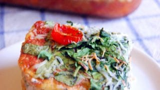 Vegetarian Spaghetti Squash Lasagna Casserole |