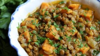 Lentil and Sweet Potato Stew