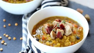 Easy Moroccan Split Pea Soup