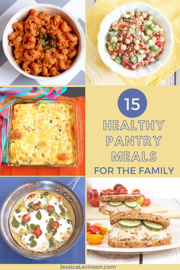 images of healthy pantry meals